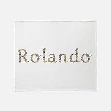 Rolando Seashells Throw Blanket