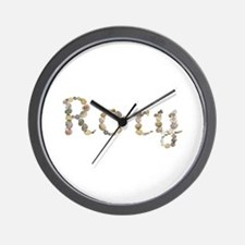 Rory Seashells Wall Clock