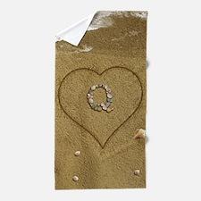 Q Beach Love Beach Towel