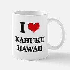 I love Kahuku Hawaii Mugs