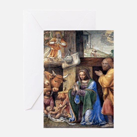 Bernardino Luini's Nativity Greeting Card