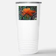 Coral Tree Stainless Steel Travel Mug