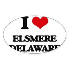 I love Elsmere Delaware Decal