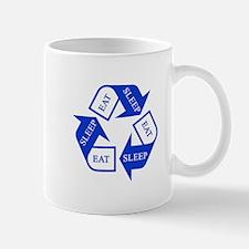 Eat Sleep Recycle Mugs