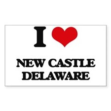 I love New Castle Delaware Decal