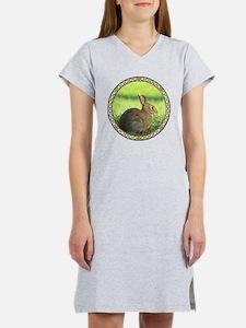 Cottontail Rabbit Women's Nightshirt