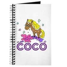 I Dream Of Ponies Coco Journal
