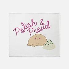 Proud Pierogi Throw Blanket
