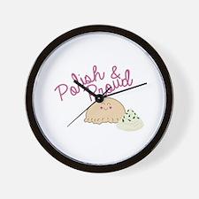 Proud Pierogi Wall Clock