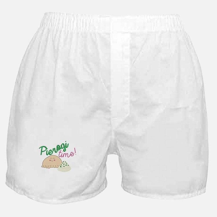 Pierogi Time Boxer Shorts
