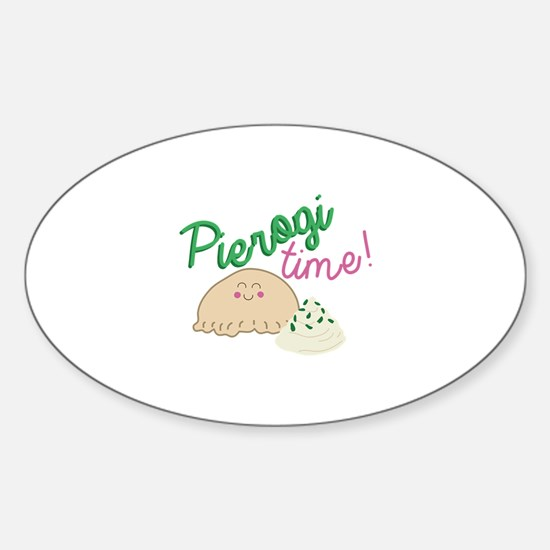 Pierogi Time Decal