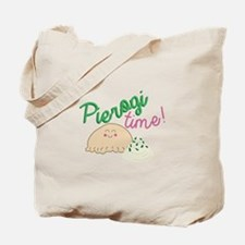 Pierogi Time Tote Bag