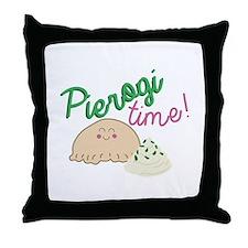 Pierogi Time Throw Pillow