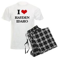 I love Hayden Idaho Pajamas