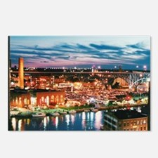 Cleveland Sunset Reflecti Postcards (Package of 8)