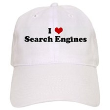 I Love Search Engines Baseball Cap