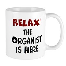 organist here Mug