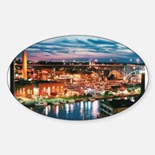 Cleveland Sunset Reflections Decal