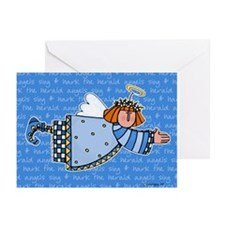 hark the herald Greeting Cards (Pk of 20)