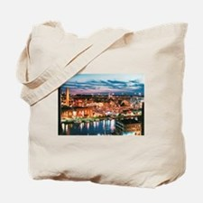 Cleveland Sunset Reflections Tote Bag