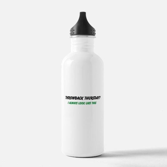 Throwback Thursday Water Bottle