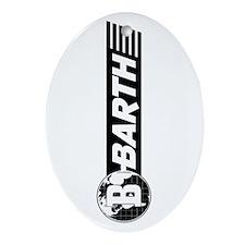 Barth Oval Ornament