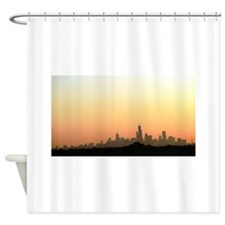 Sunrise over Chicago Shower Curtain