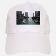 Chicago River in Downtown Chicago Baseball Baseball Cap