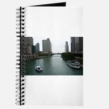 Chicago River in Downtown Chicago Journal