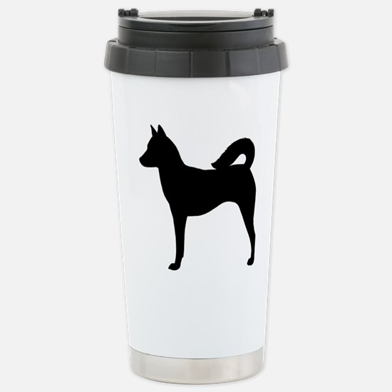 Canaan Dog Stainless Steel Travel Mug