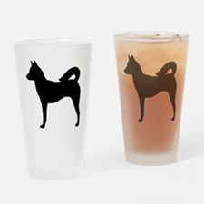 Canaan Dog Drinking Glass