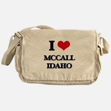 I love Mccall Idaho Messenger Bag