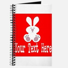 Personalizable Rabbit Journal