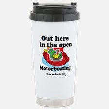 Motorboating Travel Mug