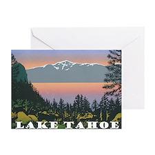 Mt. Tallac Lake Tahoe Greeting Cards