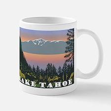 Mt. Tallac Lake Tahoe Mugs