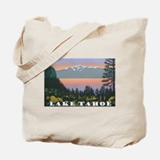 Mt. Tallac Lake Tahoe Tote Bag