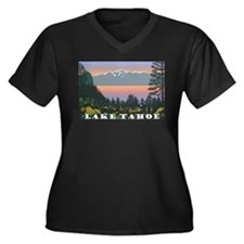 Mt. Tallac Lake Tahoe Plus Size T-Shirt