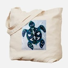 Turtle Totem Design Tote Bag