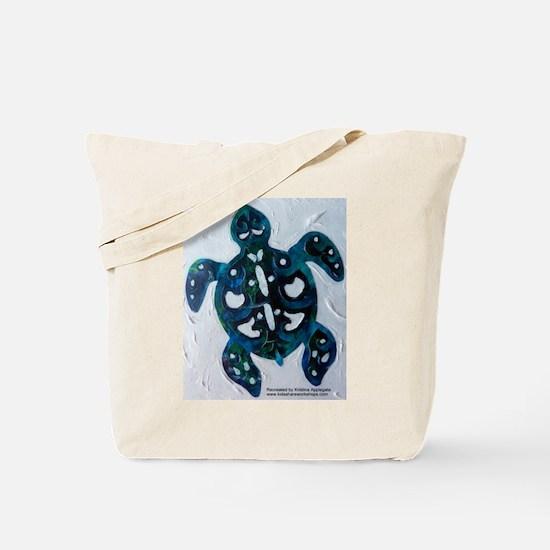 Turtle Totem Design Tote Bag
