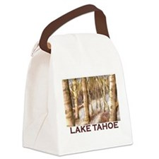Aspen Winter Canvas Lunch Bag