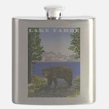 Lake Tahoe Bear Flask