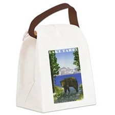 Lake Tahoe Bear Canvas Lunch Bag