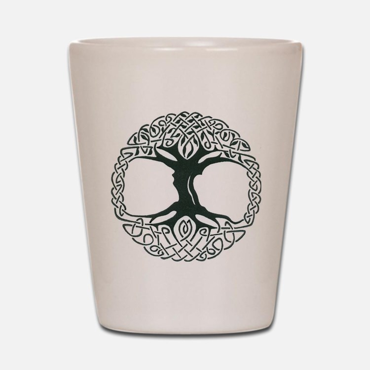 Celtic Tree of Life Shot Glass