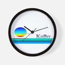 Kolby Wall Clock