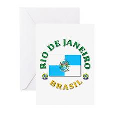 Rio de Janeiro Greeting Cards (Pk of 10)