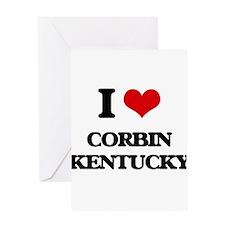 I love Corbin Kentucky Greeting Cards