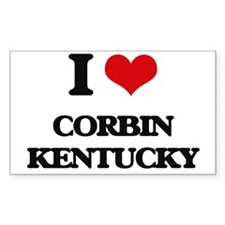 I love Corbin Kentucky Decal