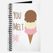 You Melt Me Journal