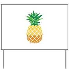 Pineapple Yard Sign